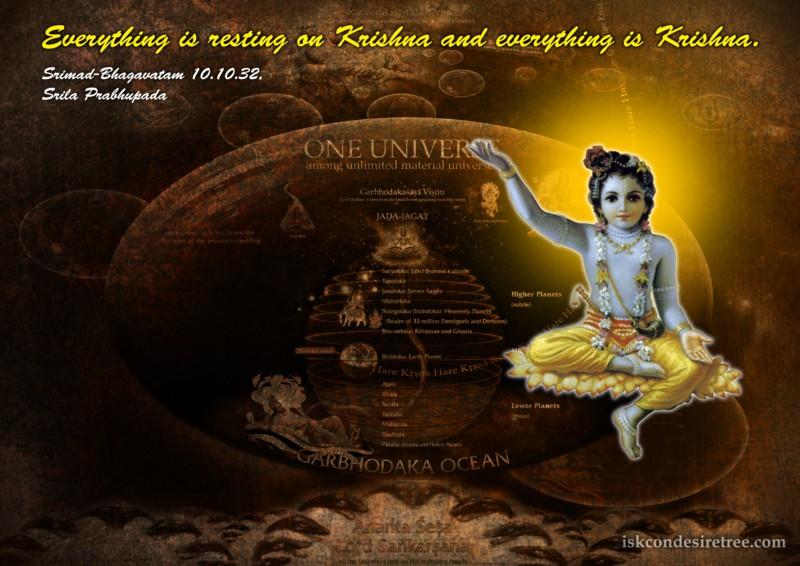 Srila Prabhupada on Everything And Krishna