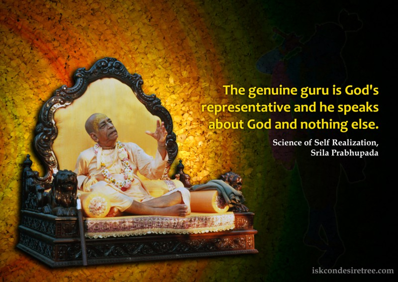 Srila Prabhupada on Genuine Guru