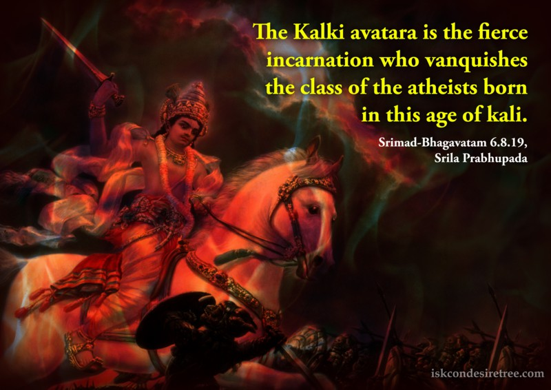 Srila Prabhupada on Kalki Avatara