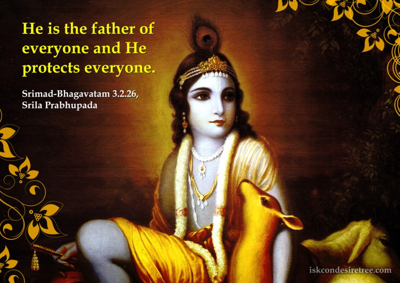 Srila Prabhupada on Lord Krishna Everyone's Protector