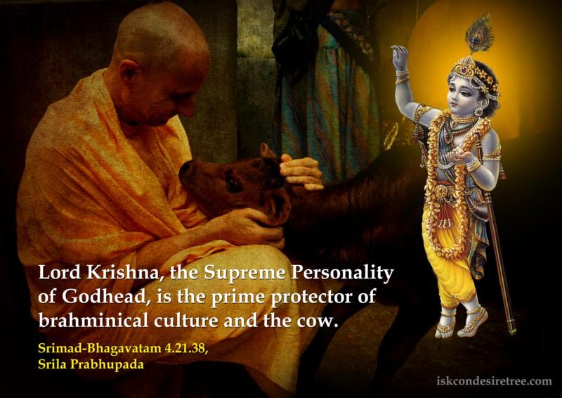 Srila Prabhupada on Lord Krishna - Prime Protector
