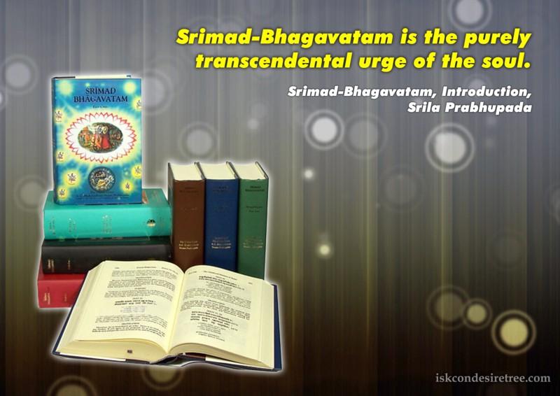 Srila Prabhupada on Srimad Bhagavatam