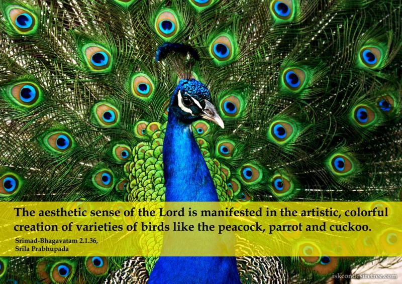 Srila Prabhupada on Aesthetic Sense of The Lord