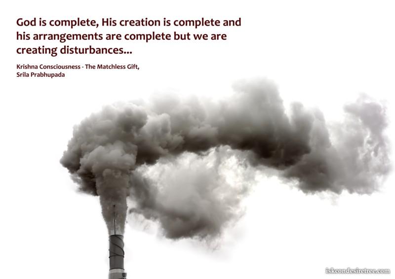 Srila Prabhupada on God's Creation