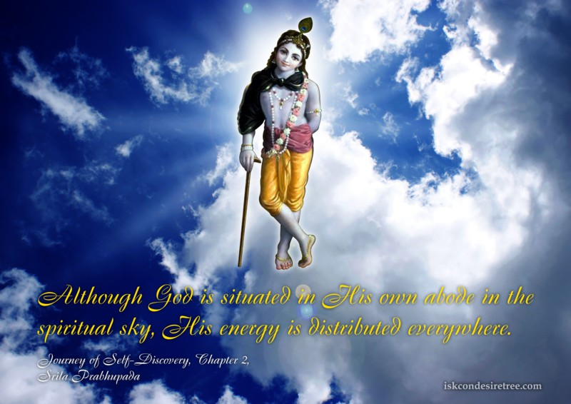 Srila Prabhupada on God's Energy