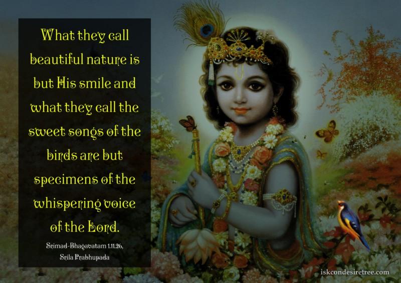 Srila Prabhupada on Greatness of The lord