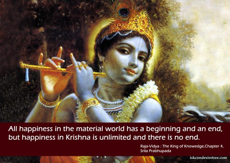 Srila Prabhupada on Happiness