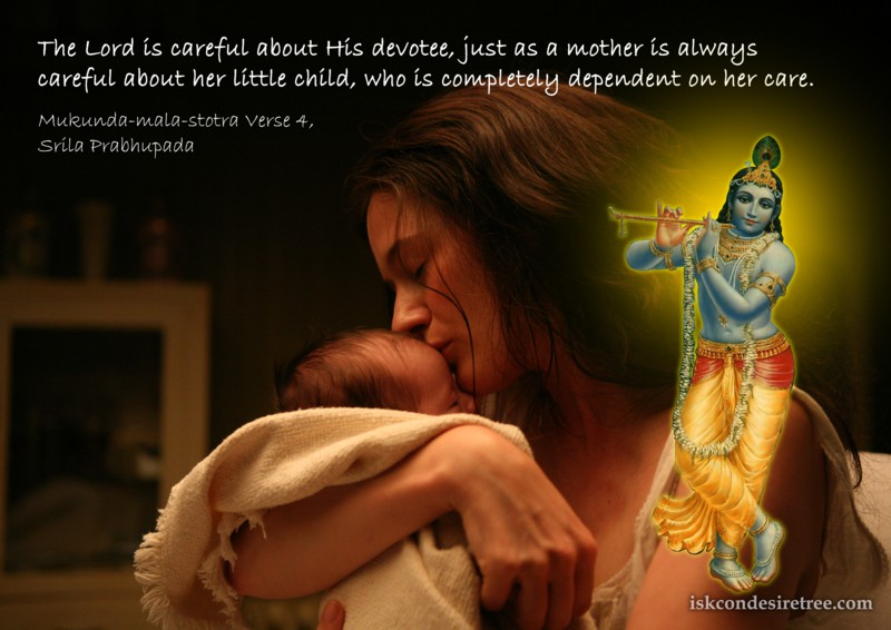 Srila Prabhupada on Lord Caring For His Devotees