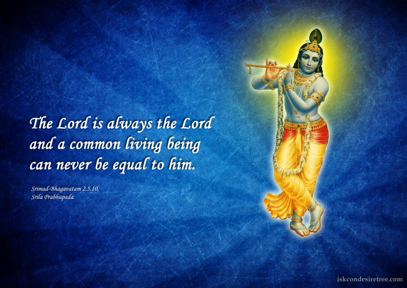 Srila Prabhupada on Supreme Lord's Greatness