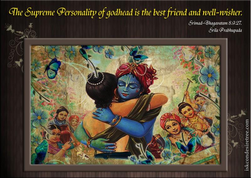 Srimad Bhagavatam on Supreme Personality of Godhead