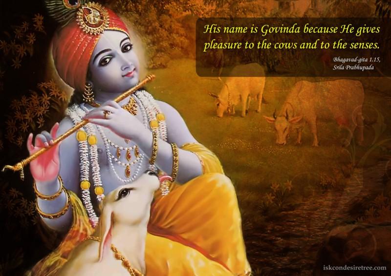 Srila Prabhupada on Govinda