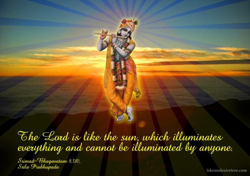 Srila Prabhupada on Lord - Like The Sun