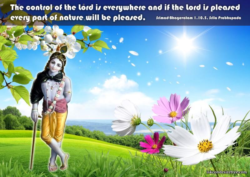 Srila Prabhupada on Lord's Control