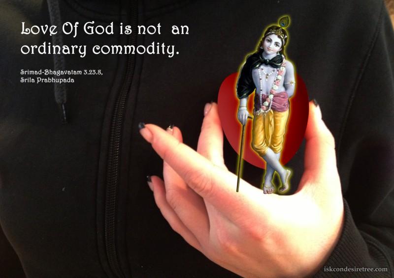 Srila Prabhupada on Love of God