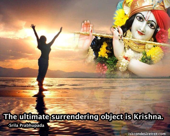 Srila Prabhupada on Surrender