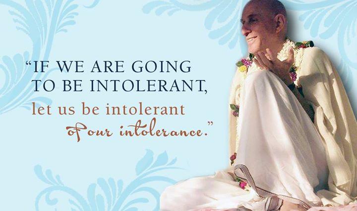 Mahatma Prabhu on Intolerance