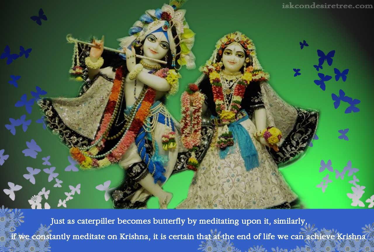 Meditation Upon Krishna